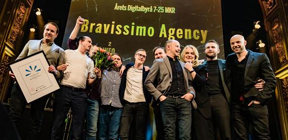 Årets Byrå 2020 - Bravissimo