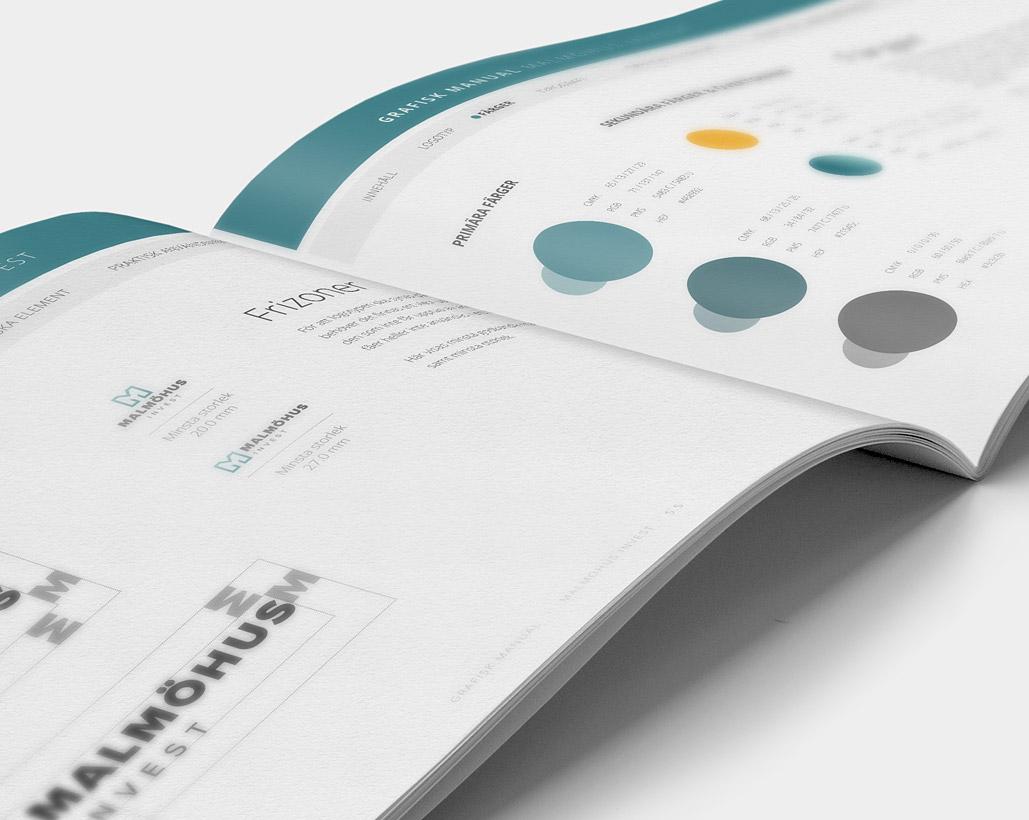 Malmöhus Invest - Grafisk profil