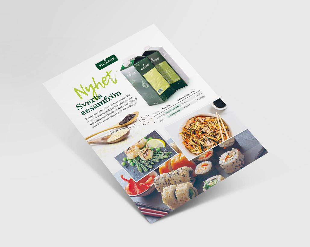 Kockens - Säljblad