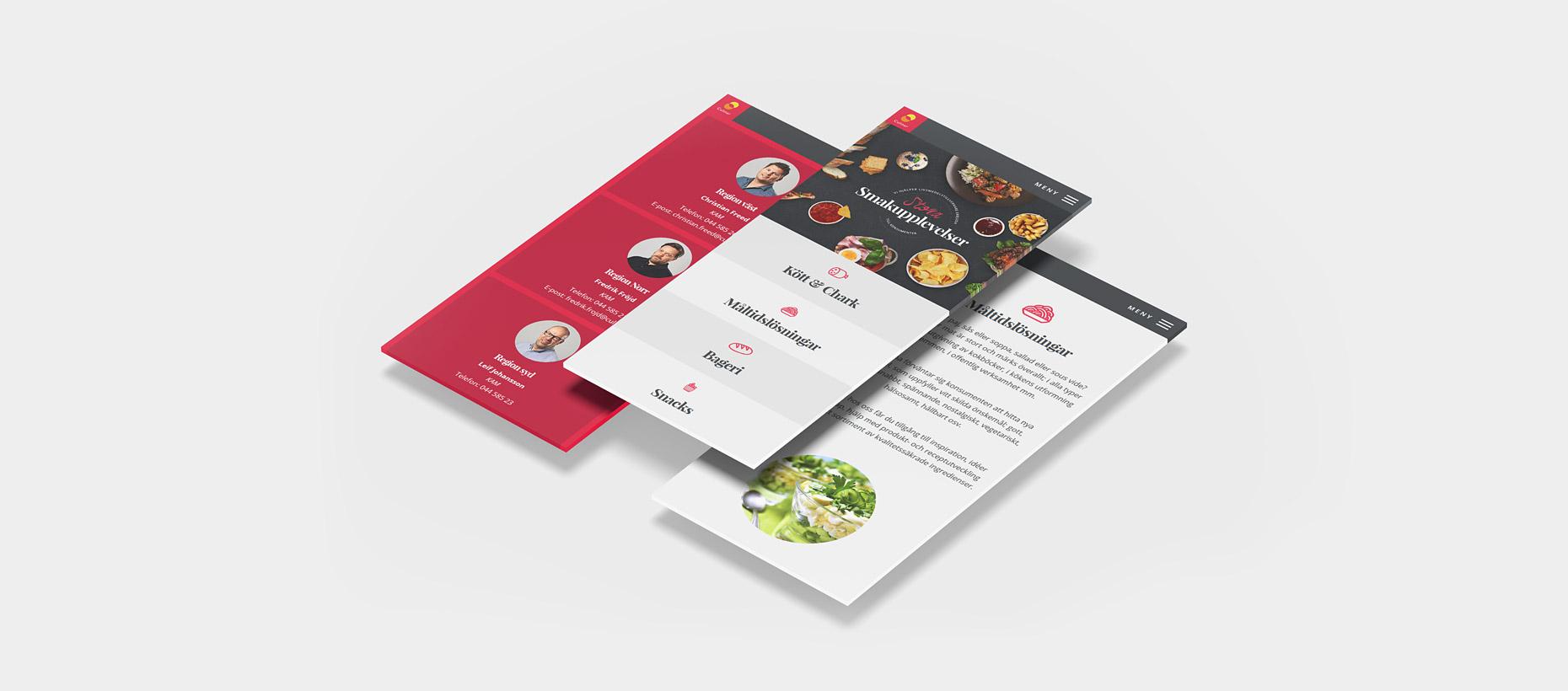 Culinar - Hemsida