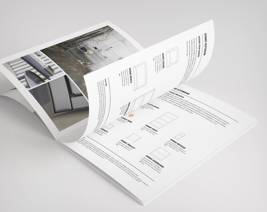 DOMO Design - Broschyr