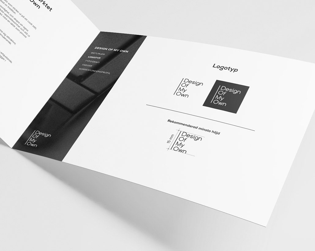 DOMO Design - Grafisk profil