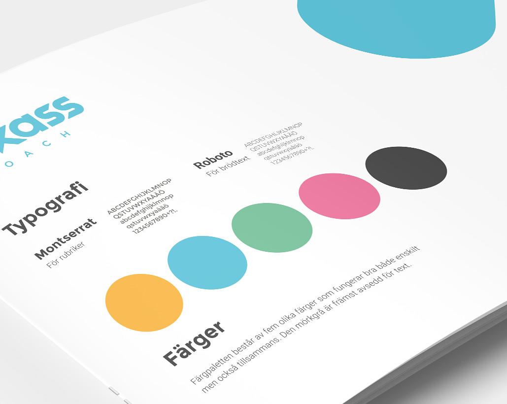 Kickass-Coach - Grafisk profil