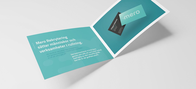Mero Rekrytering - Grafisk profil