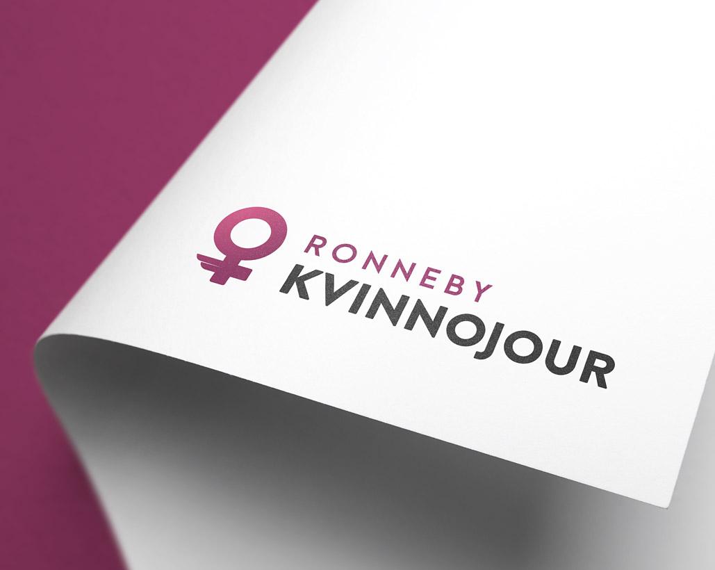 Ronneby Kvinnojour - Logotyp