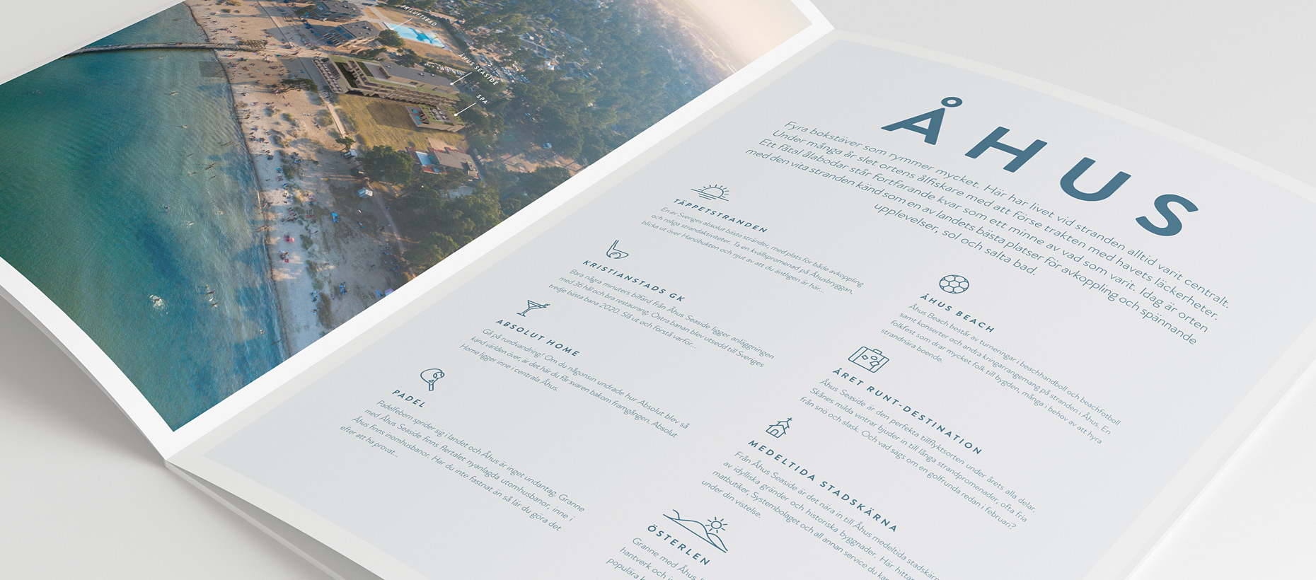Nya Åhus Seaside broschyr - Bravissimo