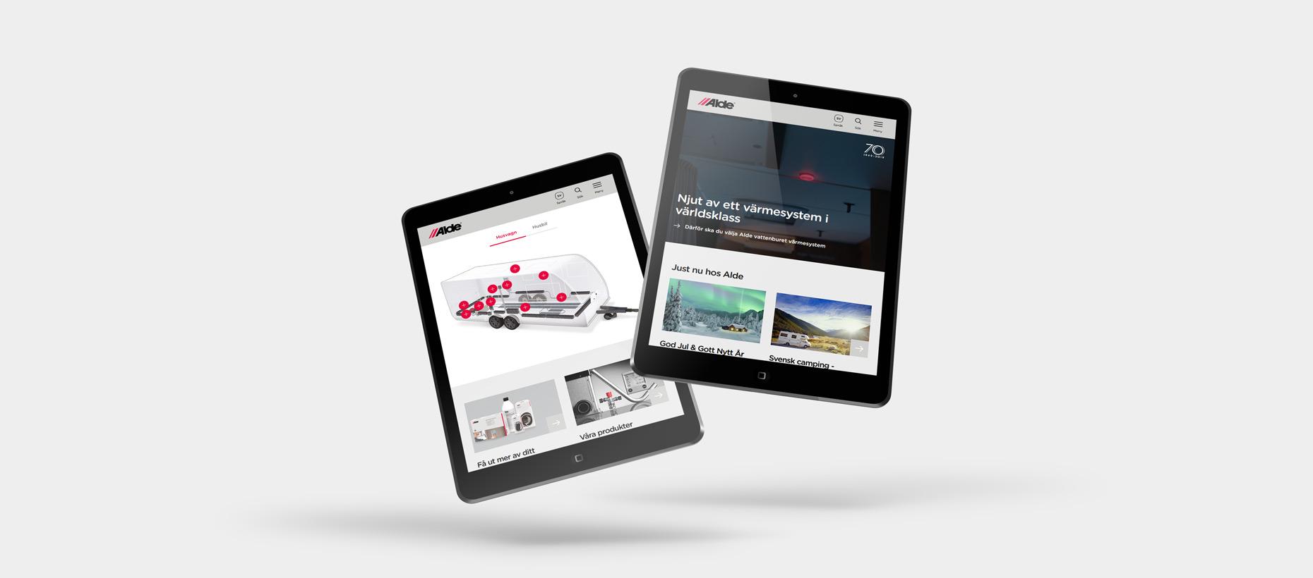 Alde - Webbplats