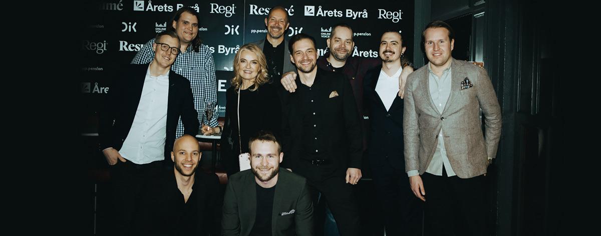 Bravissimo är Årets Byrå Sverige 2020